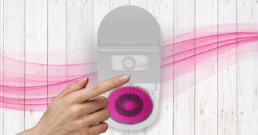 Tespo pink dispenser ad