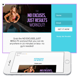 Fitness Jewell Opt-In