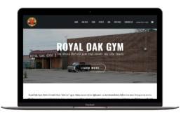 Royal Oak Gym Website Redesign