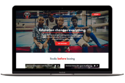 Downtown Boxing Gym Homepage