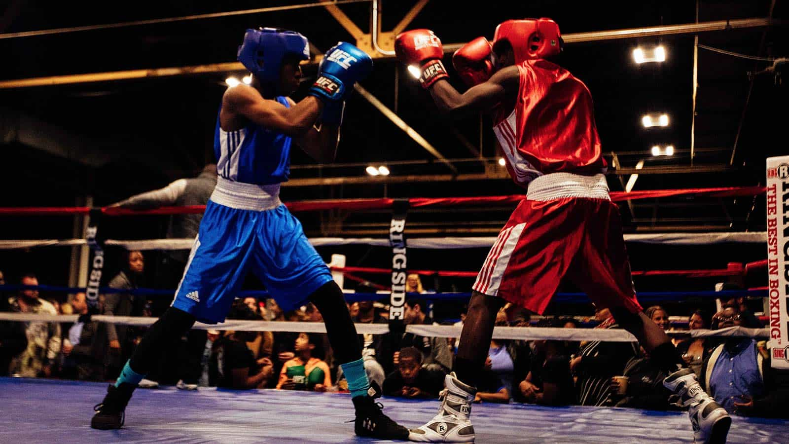 web design for downtown boxing gym youth program in detroit