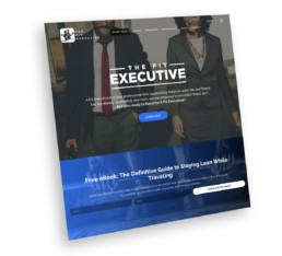 The Fit Executive Web Design