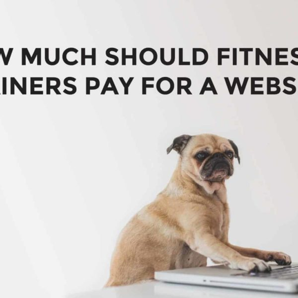 Fitness Trainer Website Cost
