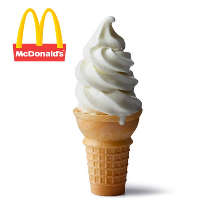 McDonald's Vanilla Cone