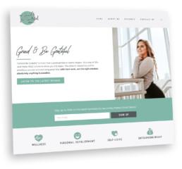 Grind & Be Grateful Podcast Website