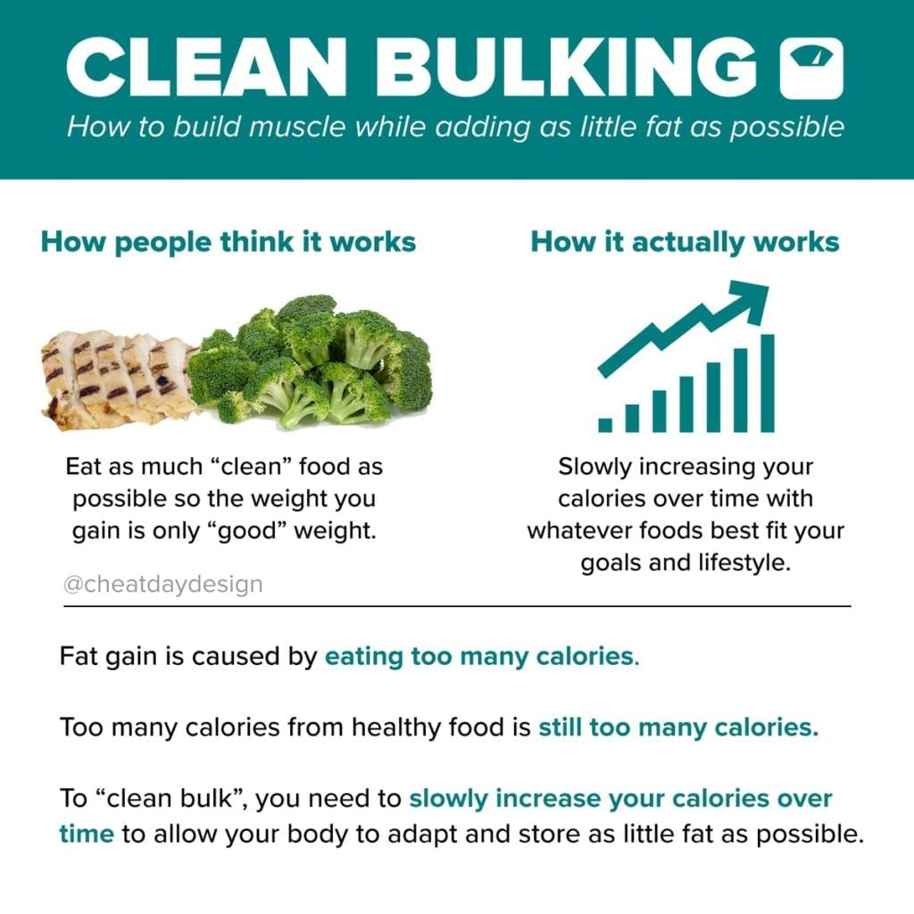 What is clean bulking and how do you do it