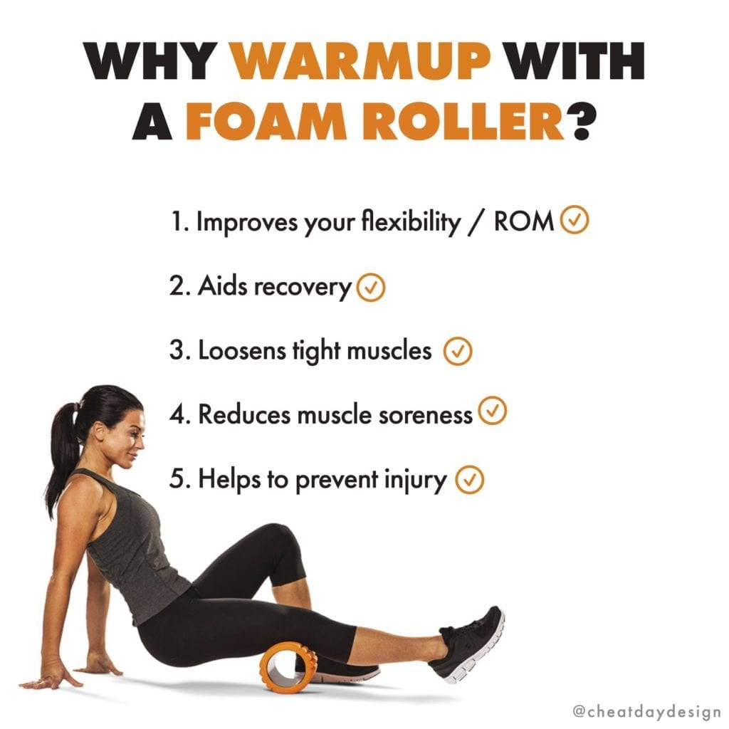 Why you should warmup with a foam roller