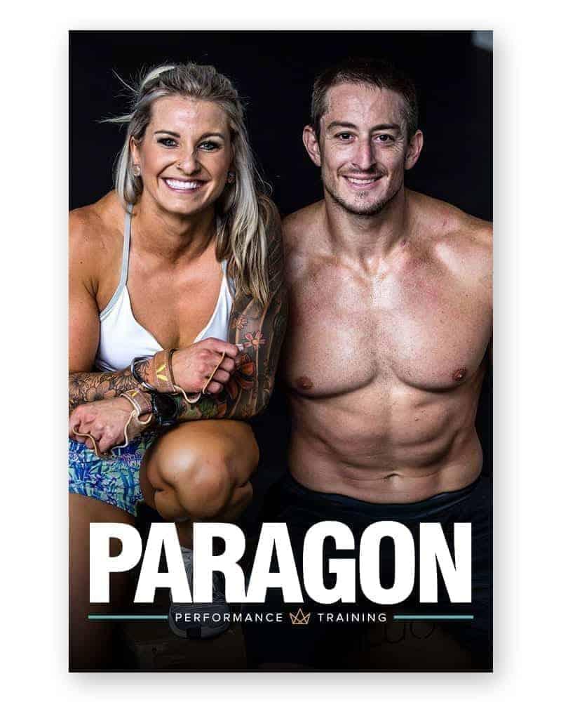 Paragon Performance Training logo mockup