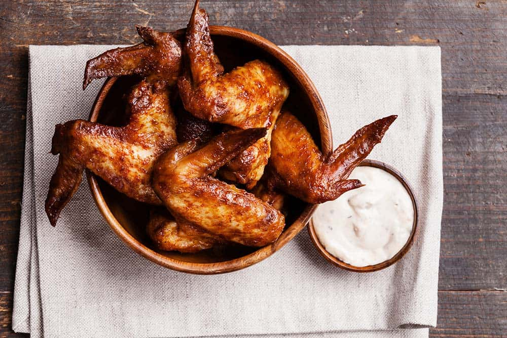 Chicken wing calories