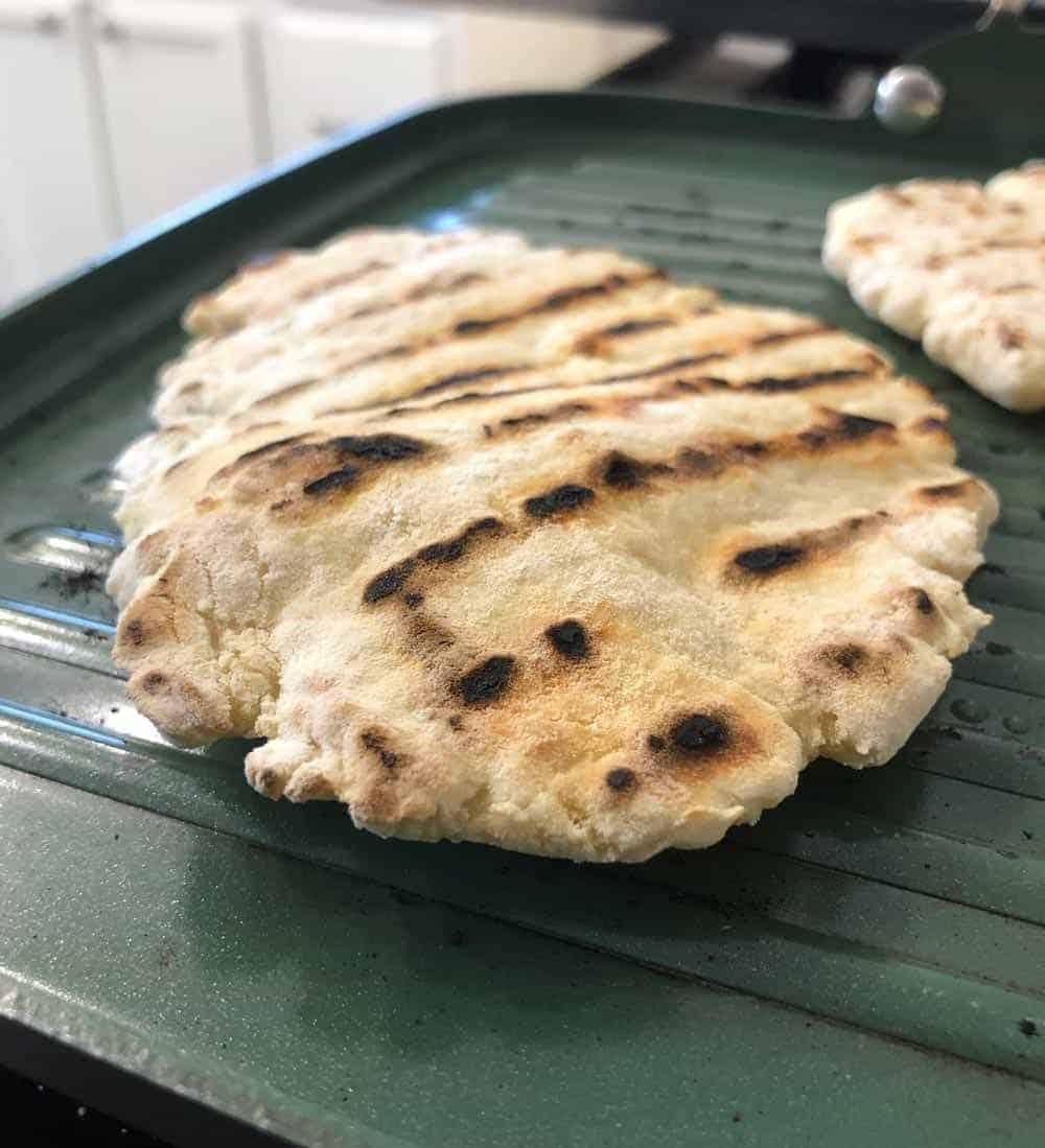 Greek yogurt healthy flatbread recipe