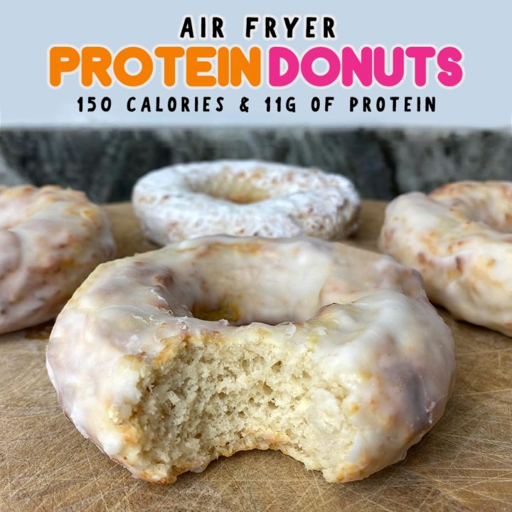 Air Fryer Protein Donuts