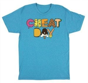 Cheat Day Aqua Shirt