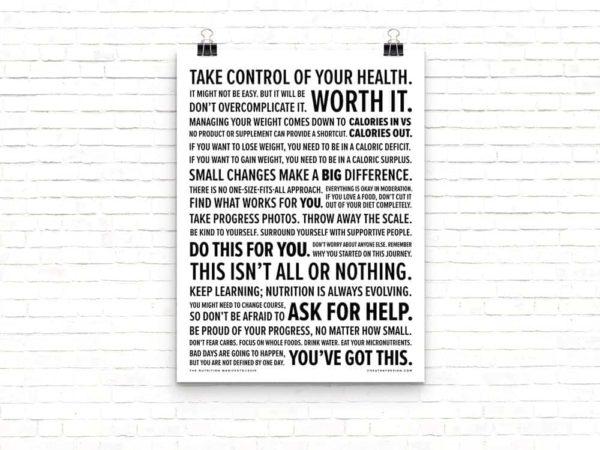 Nutrition Manifesto