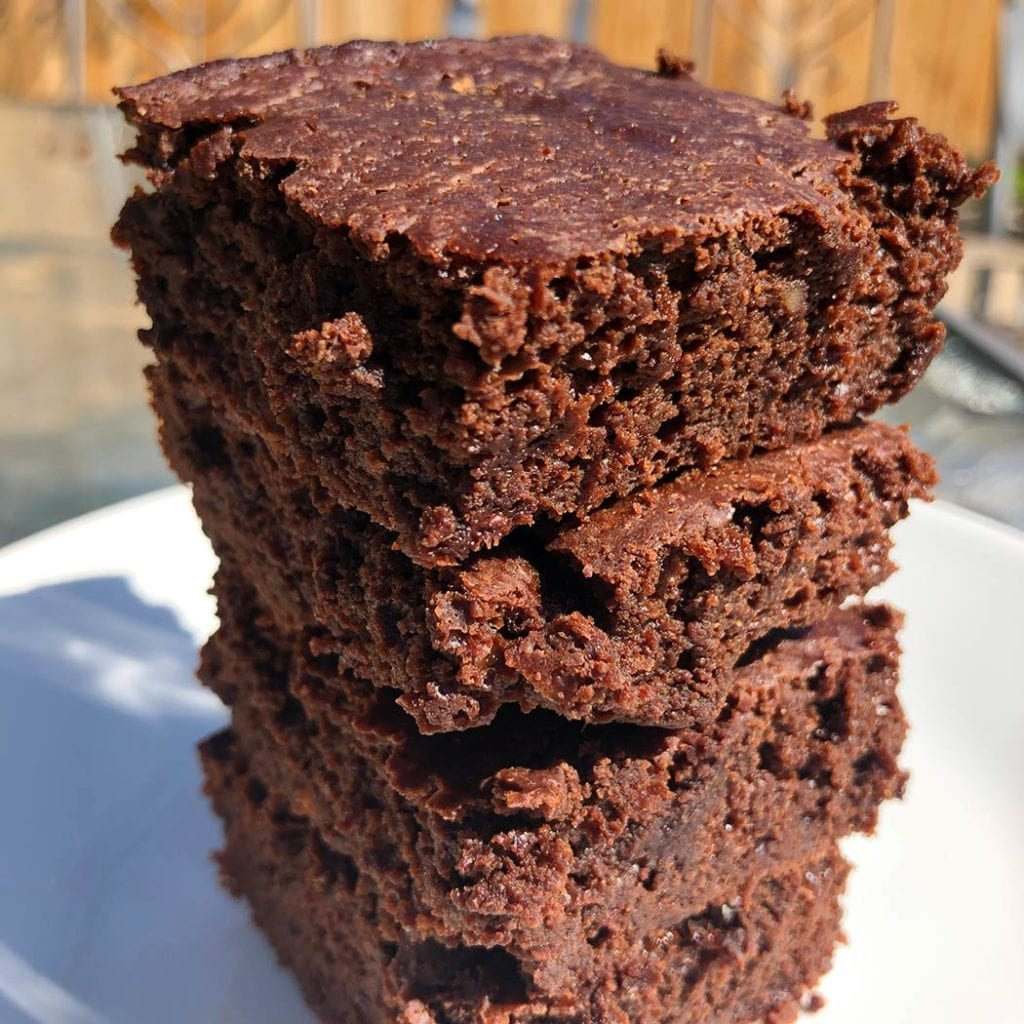 Healthy Protein Brownies