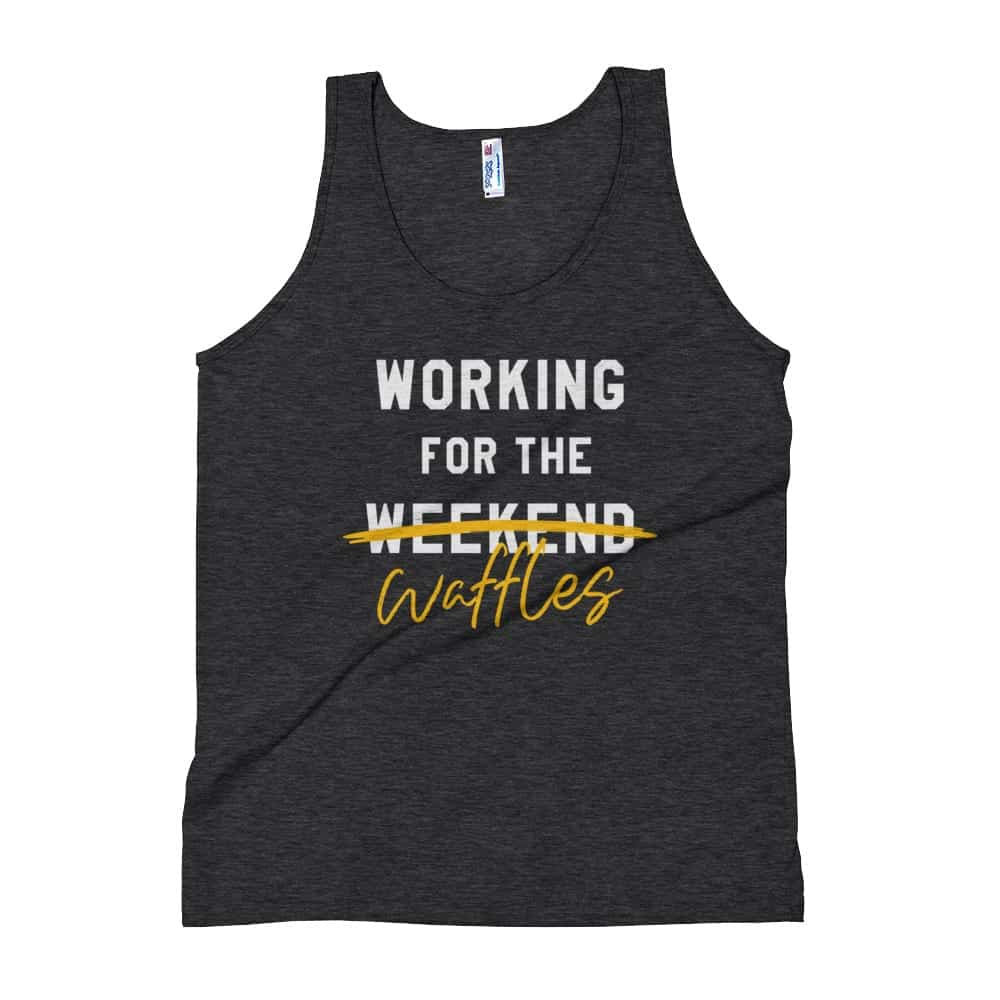 Working For The Waffles Tank Top