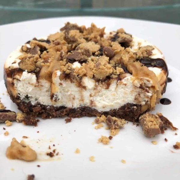 Protein Reese's Mini Cheesecake