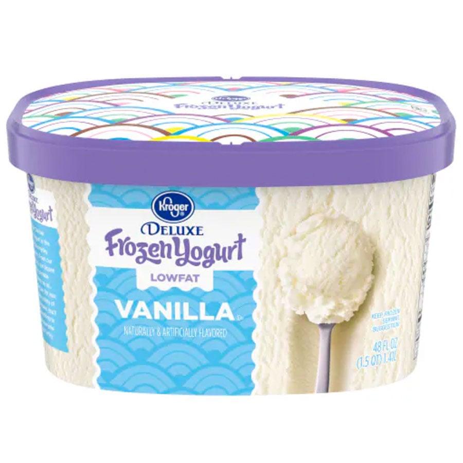 Kroger Vanilla Frozen Yogurt