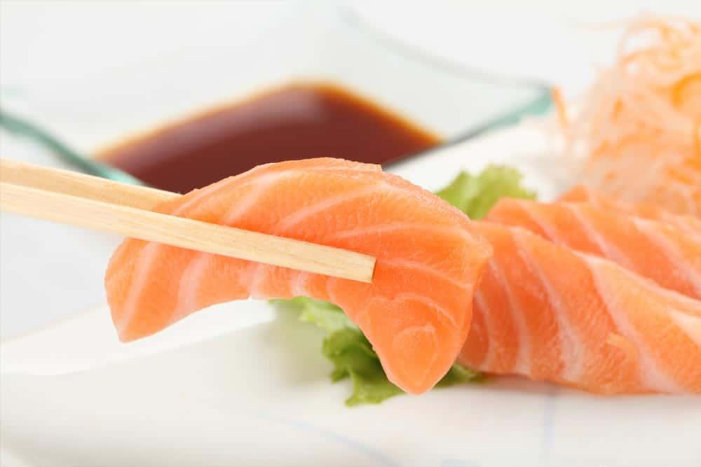 sashimi calories
