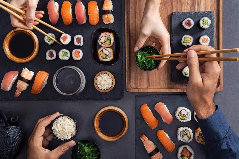Is sushi or sashimi healthier?