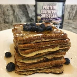 Protein Blueberry French Toast