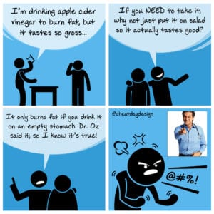 Dr. Oz Apple Cider Vinegar
