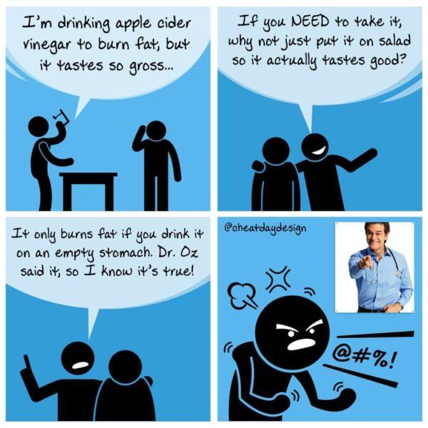 Dr. Oz Apple Cider Vinegar
