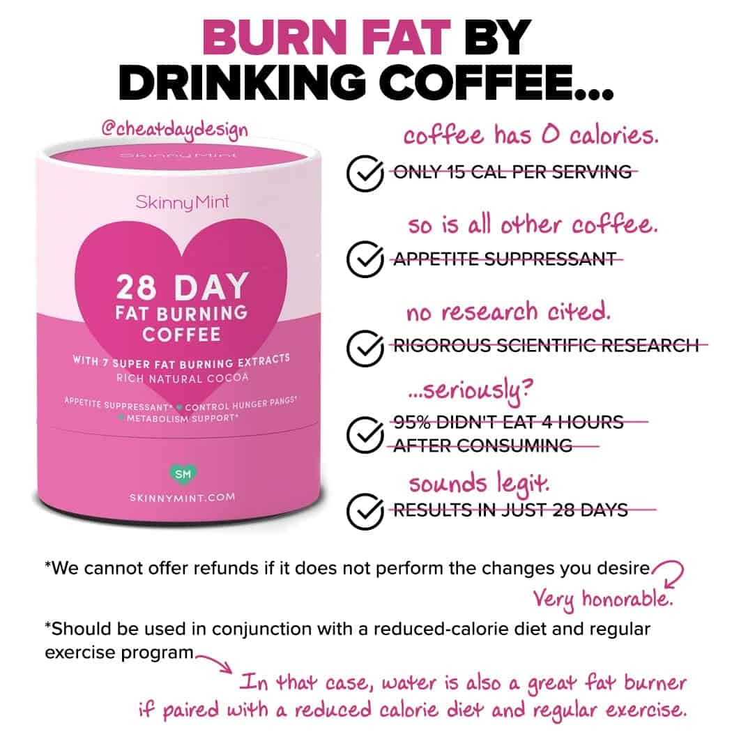 Does skinny coffee work?