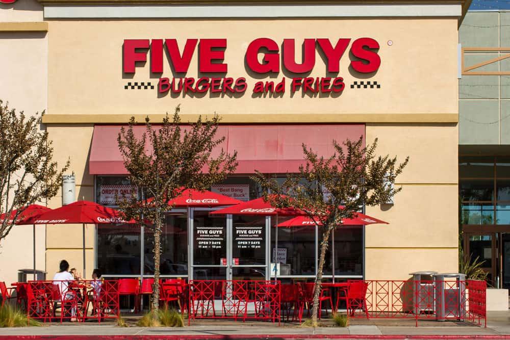 Five Guys Restaurant