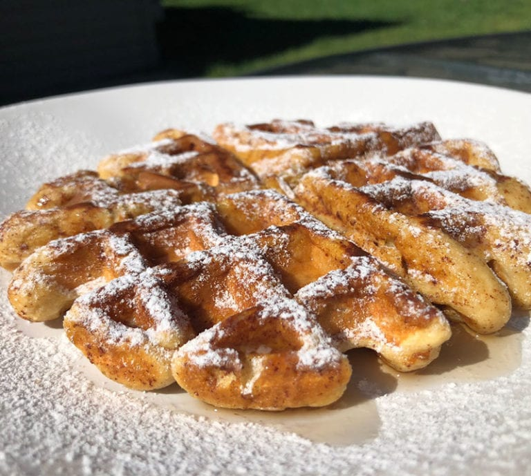 Protein french toast Waffle