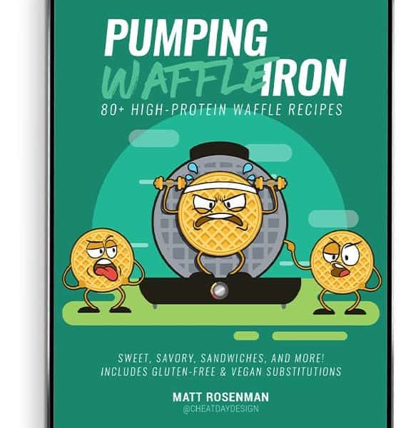 Pumping Waffle Iron Cover