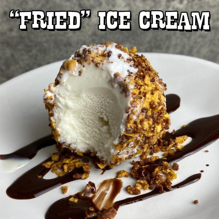 "High-Protein ""Fried"" Ice Cream"