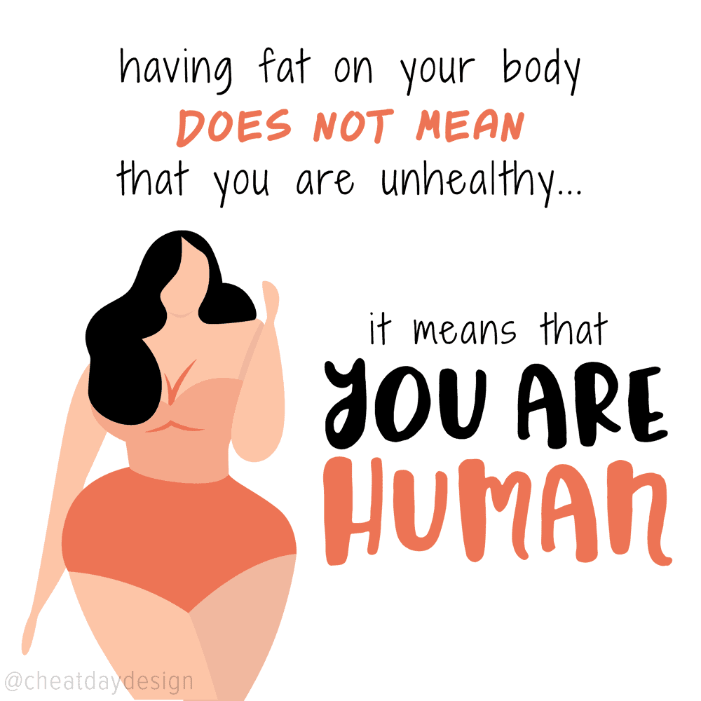 Fat doesnt make you unhealthy