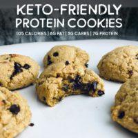 Keto-Friendly Protein Cookies