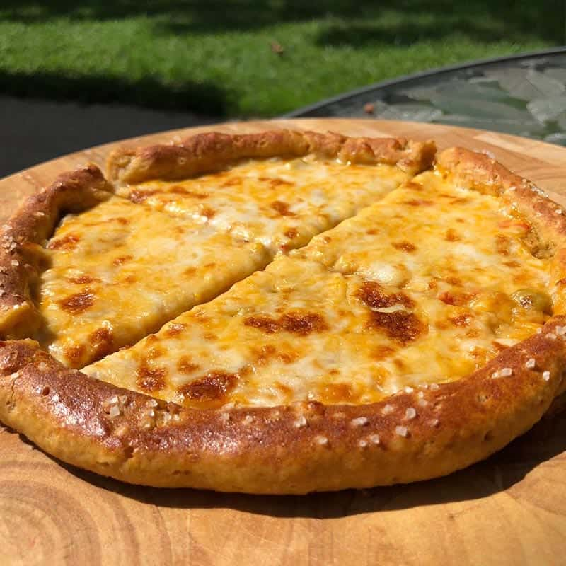 Pretzel Pizza