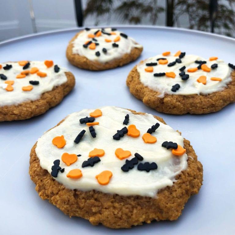 pumpkin protein cookies