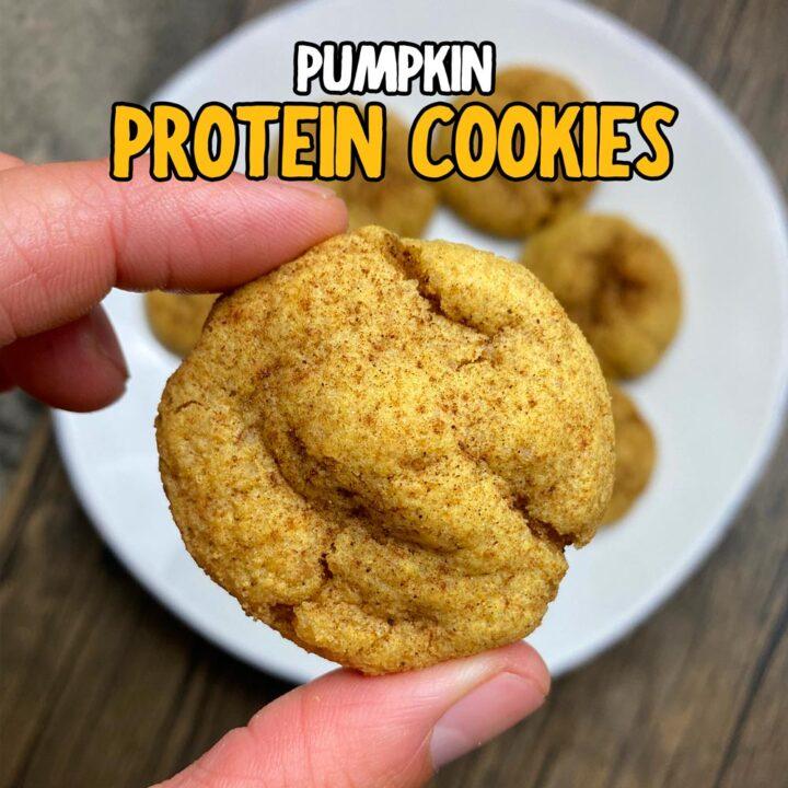 The Softest Protein Pumpkin Cookies (Keto-Friendly & Gluten-Free)