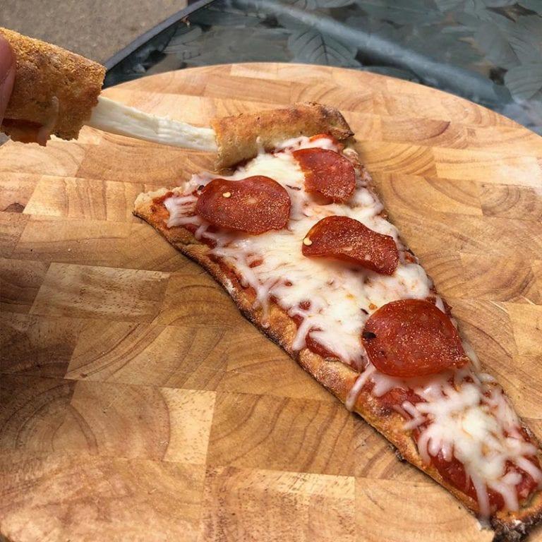 Stuffed Crust Pizza Slice