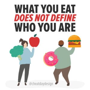 Your food choices don't define you