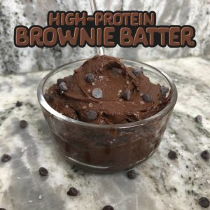 Protein Brownie Batter