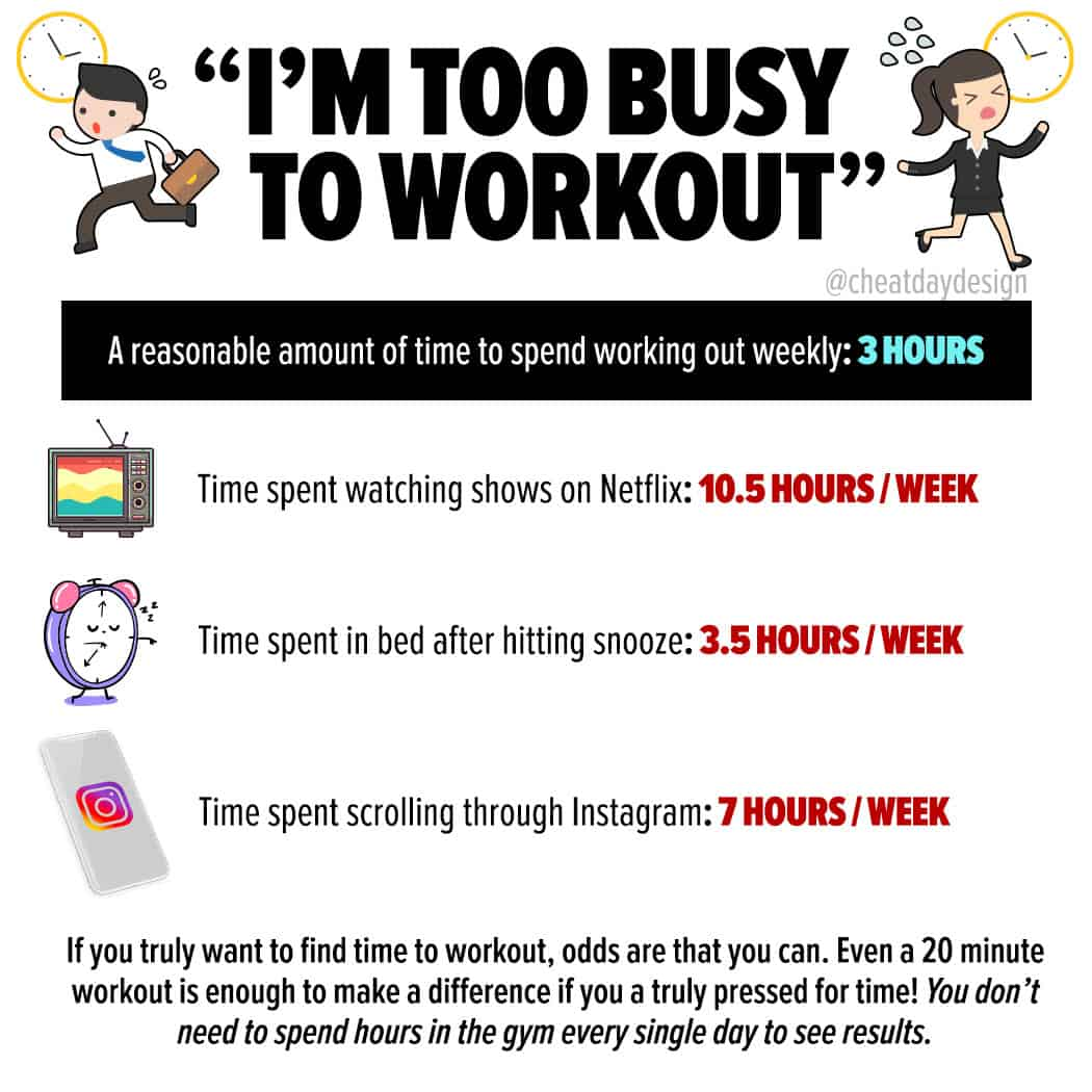 Making time to workout