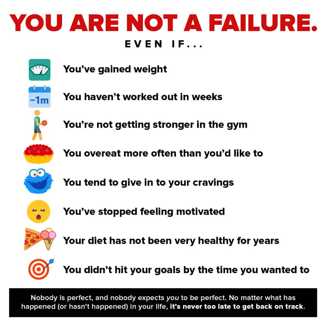 You are not a failure