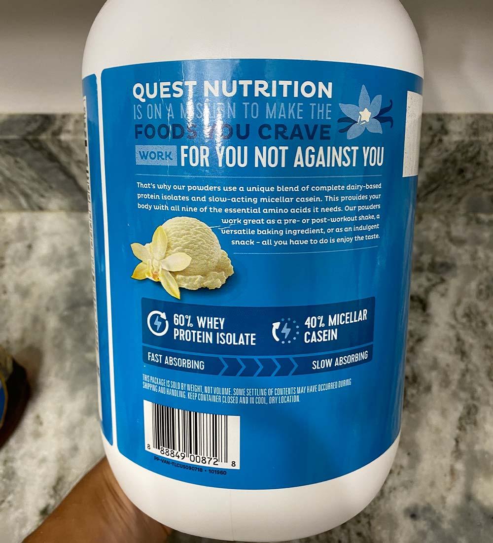 Quest Vanilla Protein Powder