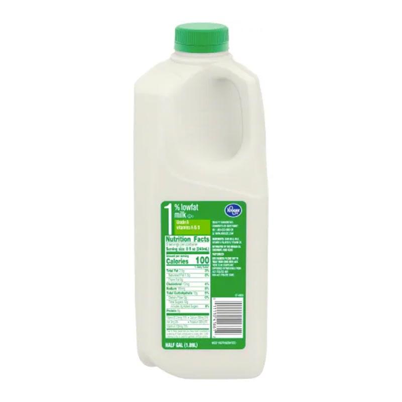 1% Milk Nutrition