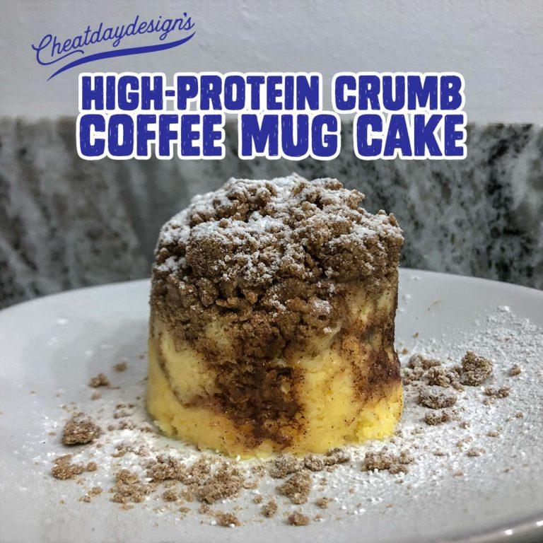 Protein Crumb Coffee Mug Cake