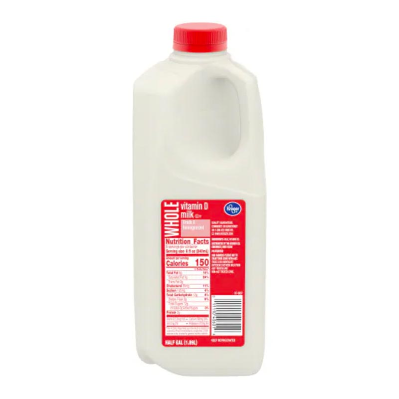 Whole Milk Nutrition