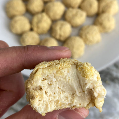 Protein Cheesecake Bites