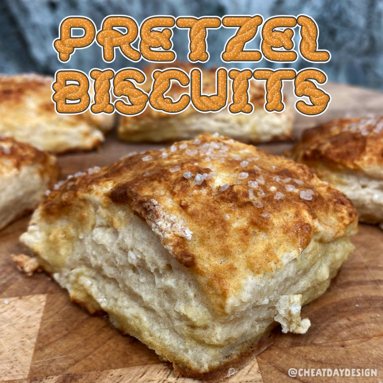Healthy Soft Pretzel Biscuits