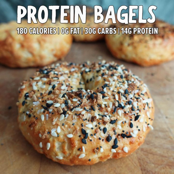 Quick & Easy Protein Bagels with 14g Protein