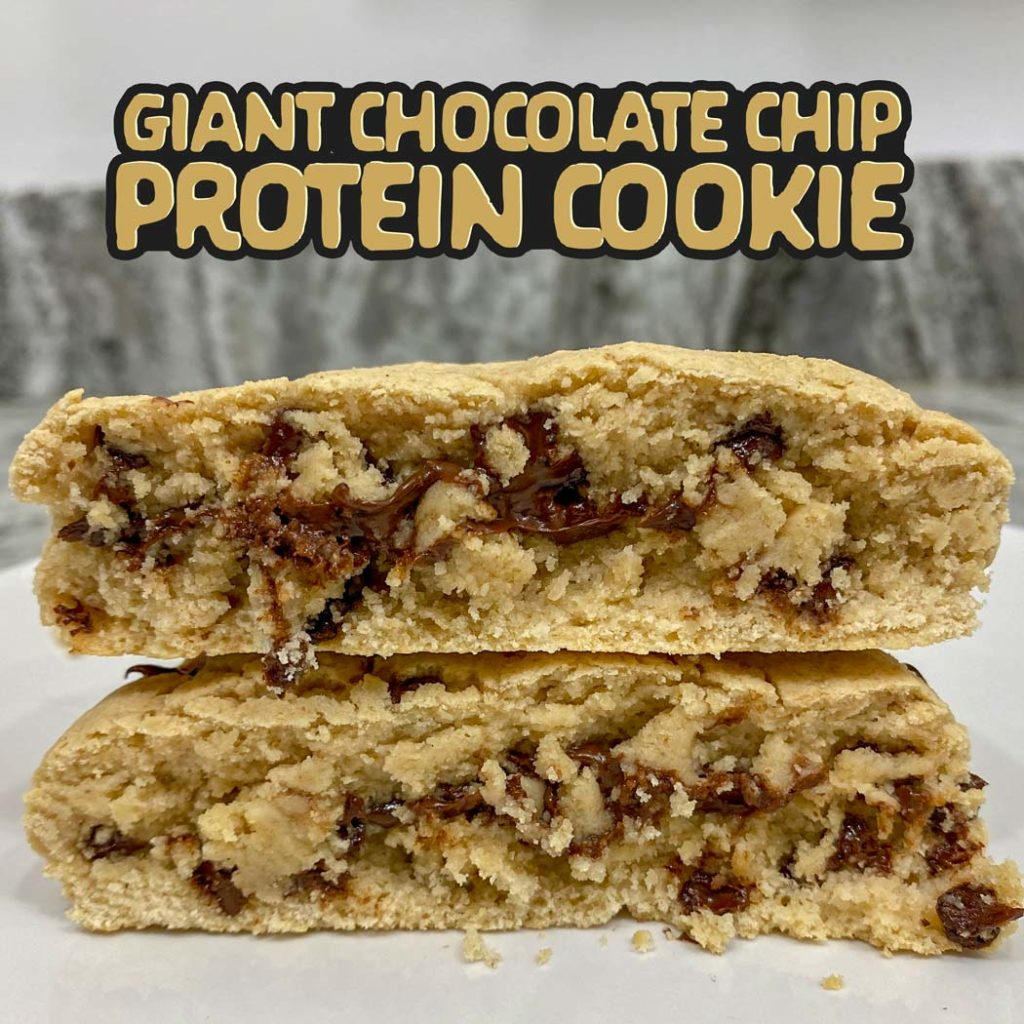 Giant Chocolate Chip Protein Cookie