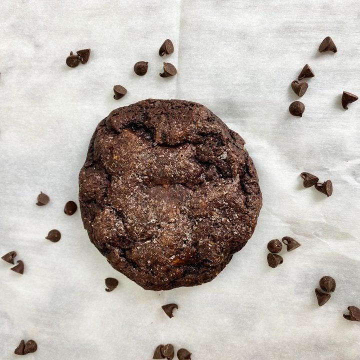 Protein Chocolate Fudge Cookies